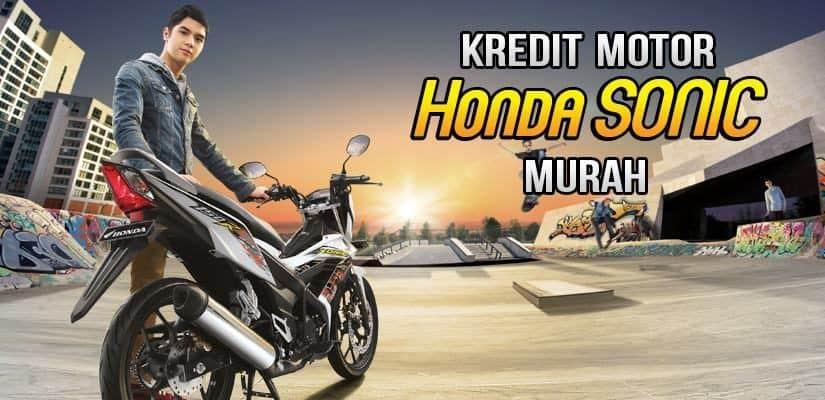Kredit Motor Honda Sonic DP Murah