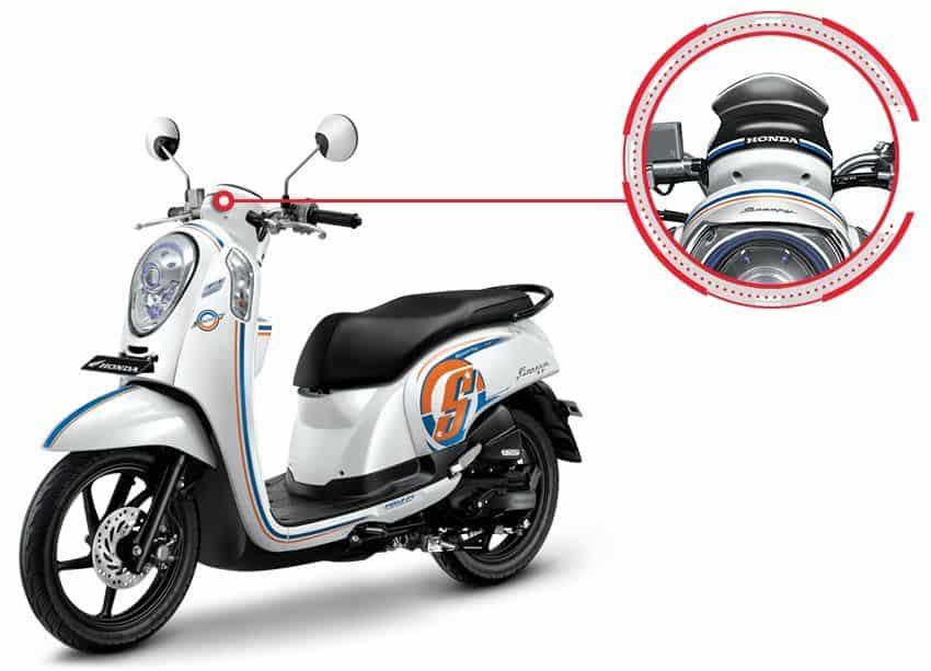 Visor Honda Scoopy eSP