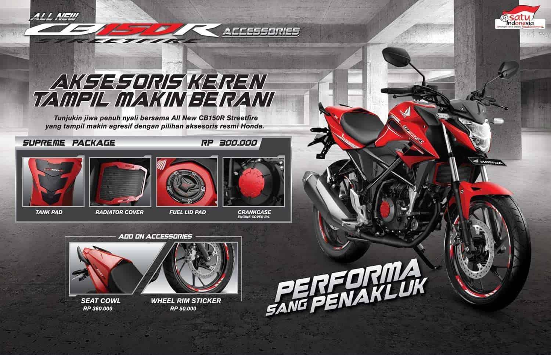 Aksesoris Resmi Honda CB150R
