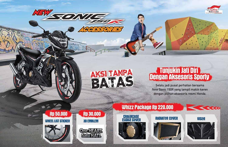 Aksesoris Resmi Honda Sonic