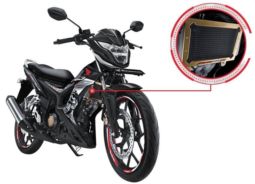 Radiator Cover Honda Sonic 150R