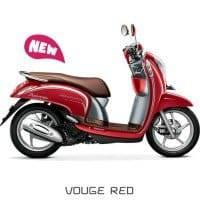 Honda Scoopy eSP Vouge Red