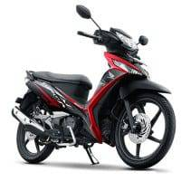 New Honda Supra X 125 FI Energetic Black