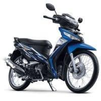 New Honda Supra X 125 FI Fabulous Blue