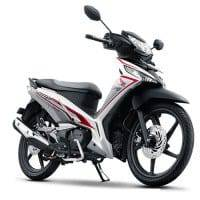 New Honda Supra X 125 FI Fabulous White
