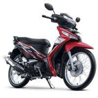 New Honda Supra X 125 FI Graceful Red