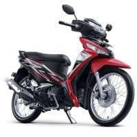 New Honda Supra X 125 FI Graceful Red