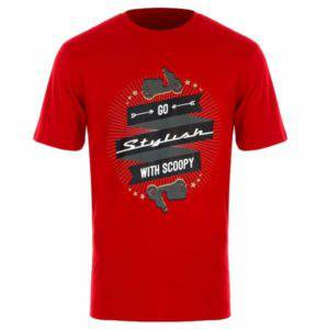 Scoopy Go T-Shirt Red