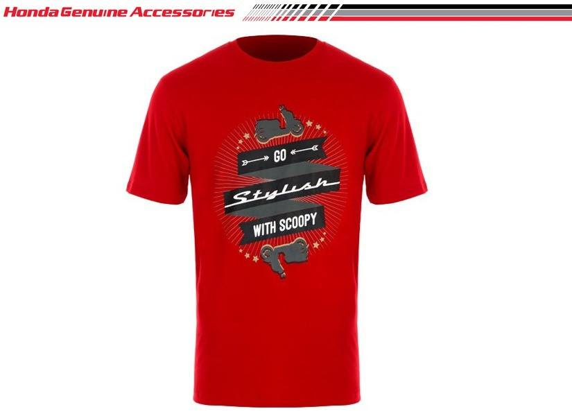 Scoopy GO T Shirt Red