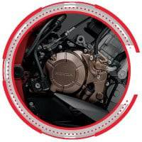 Gold Engine Cover