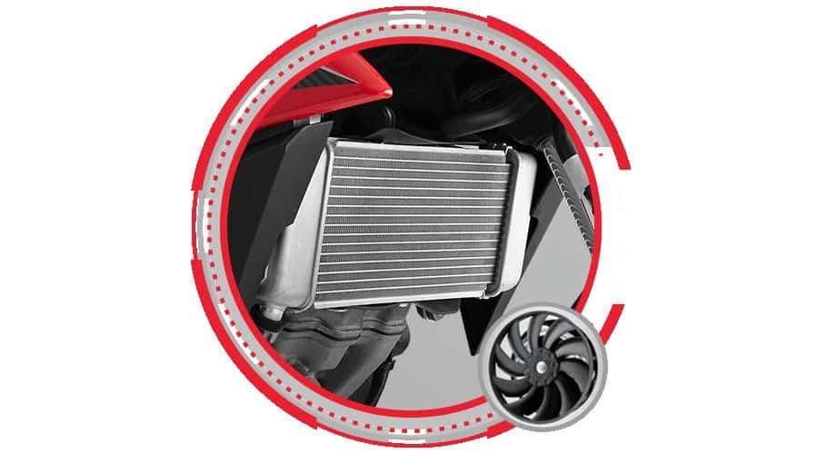 Kipas Radiator New CB150R