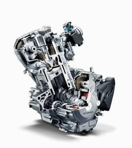 Mesin Motor Honda FI