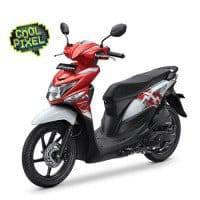 New Honda BeAT POP Putih Merah