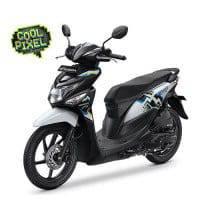 New Honda BeAT POP Harmony Black White
