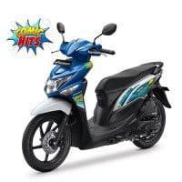 New Honda BeAT POP Putih Biru