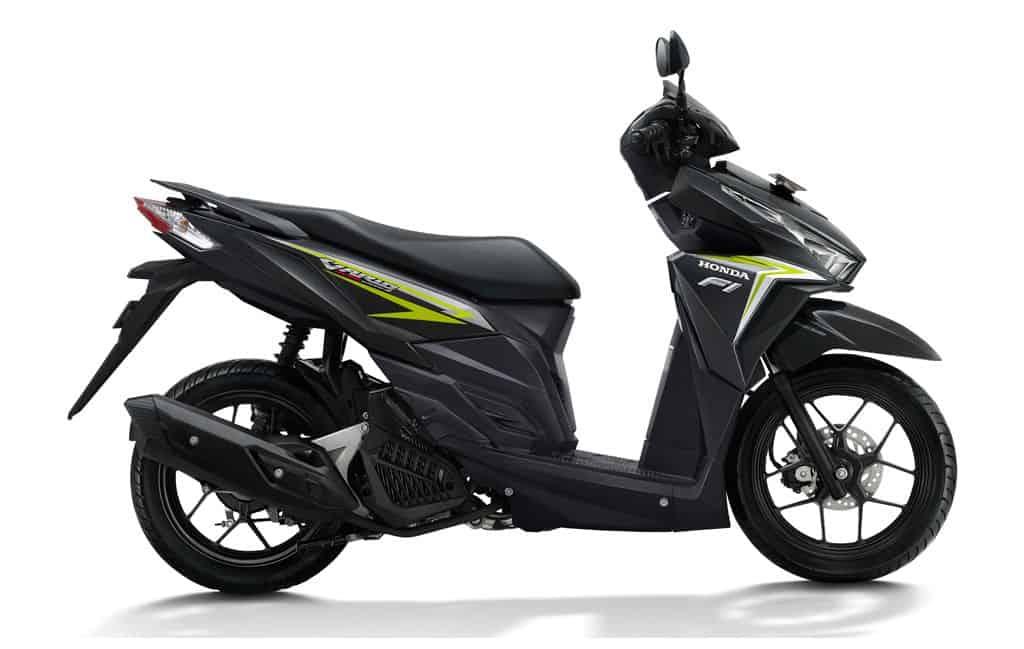Honda Vario 125 eSP Black Green