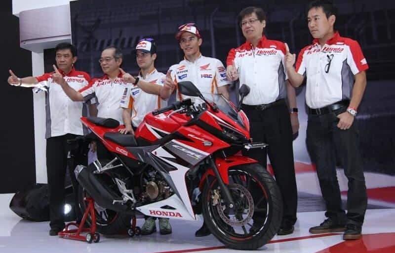 Launching Honda CBR 150R