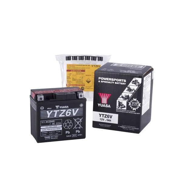 BATTERY YTZ6-V