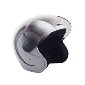 Helm Resmi Honda Scoopy White Grey