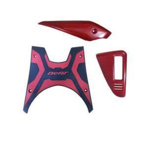 Paket Aksesoris Resmi Honda Beat eSP Red