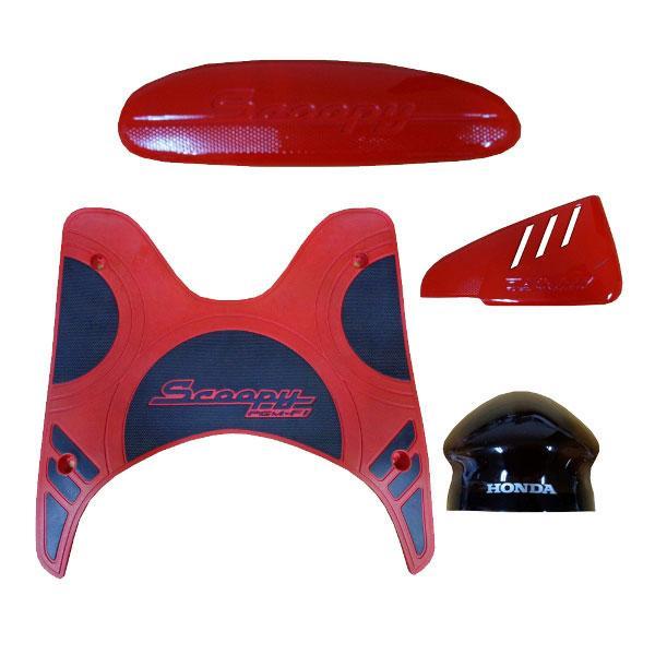 Paket Aksesoris Resmi Honda Scoopy FI Red