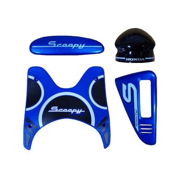 Paket Aksesoris Resmi Honda Scoopy eSP Blue