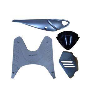 Paket Aksesoris Resmi Honda Spacy Silver