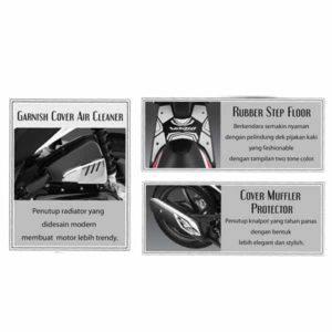 Paket Aksesoris Resmi Honda Vario 110 FI