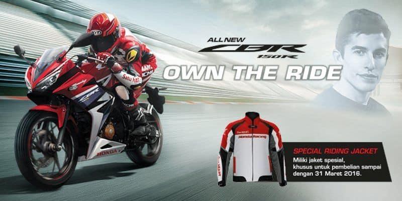 Promo All New CBR 150R Special Riding Jacket
