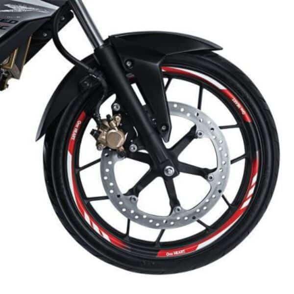 Wheel Rim Sticker Honda Sonic 150R