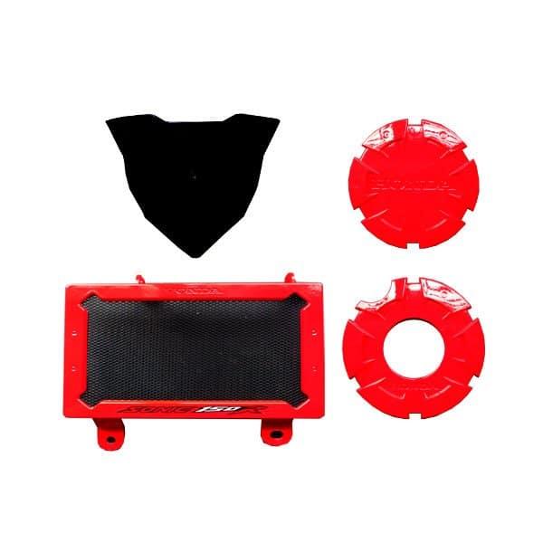 Paket Aksesoris Resmi Honda Sonic 150R - Red