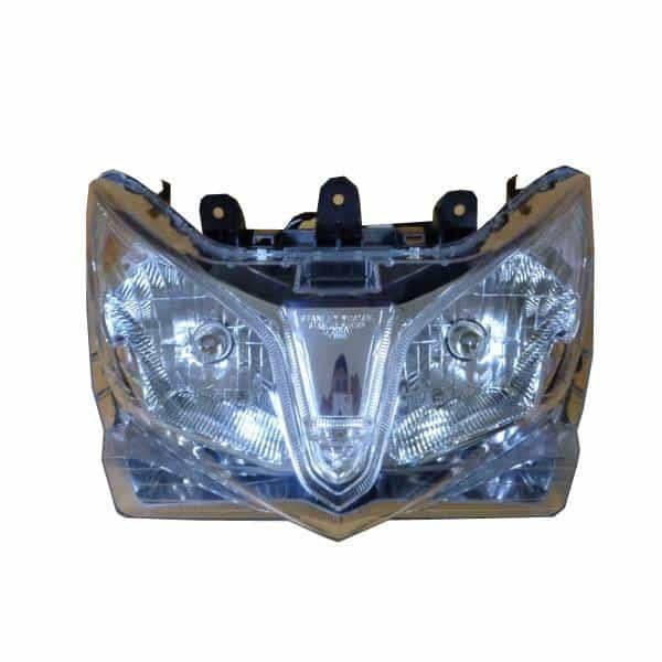 Headlight Assy Lampu Depan (Reflektor + Bohlam) – Vario 125 FI