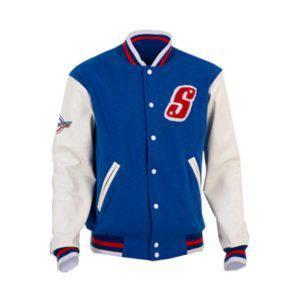 Scoopy V-Jacket Blue