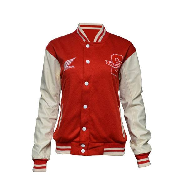 Scoopy V-Jacket Red