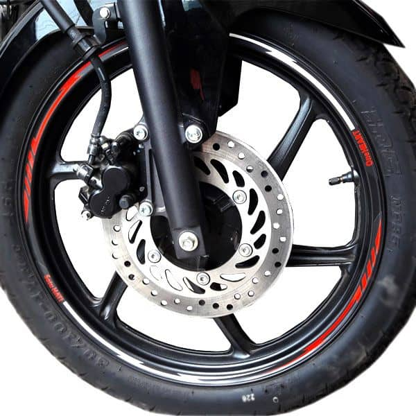 Wheel Rim Sticker New Honda CBR 150R