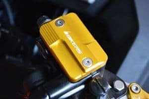 Bikers Front Brake Fuild Tank Cap (Tutup Minyak Rem Depan) – Red