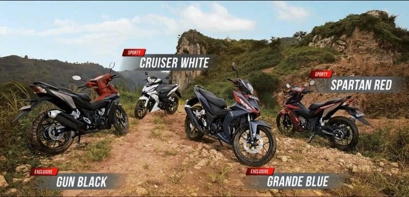 Pilihan Warna All New Honda Supra GTR 150
