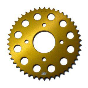 SSS Gear Ultra Light Sprocket Alumunium Gold 428X46T