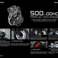 Feature Honda CB500X