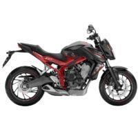 Honda CB650F Metal Gun Black Red