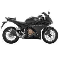 Honda CBR500R Matte Gunpowder Black