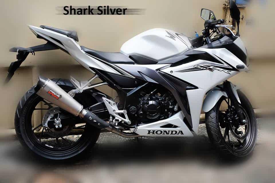 Knalpot Shark Silver New CBR