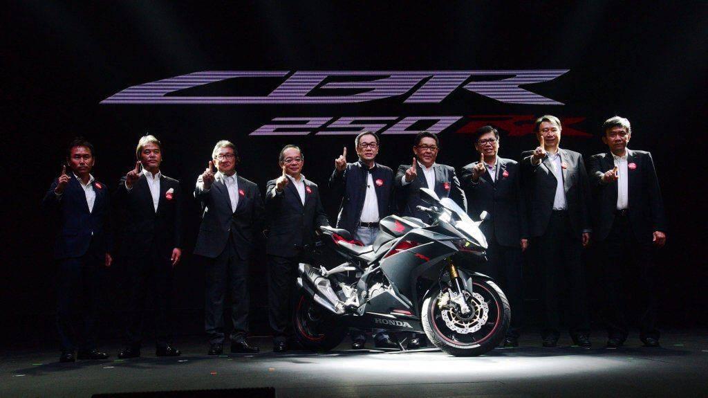 Peluncuran All New Honda CBR250RR