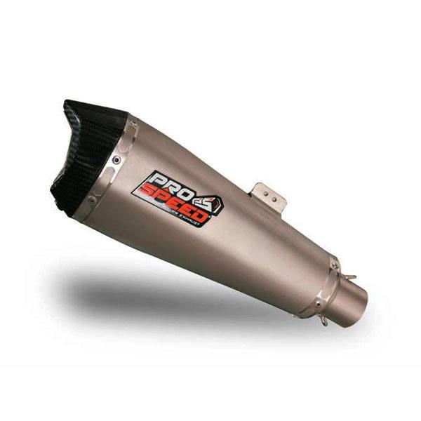 ProSpeed Muffler Shark Silver Full System New Honda CBR 150R