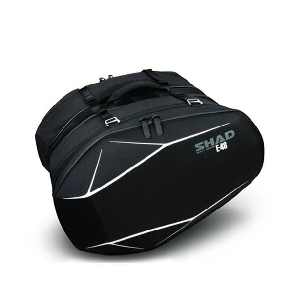 Side Bags & Bracket - SHAD E48