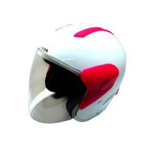Helm Spacy White Magenta