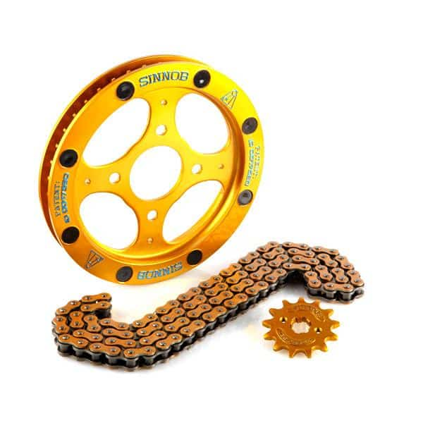 Sinnob Drive Chain Kit Gold