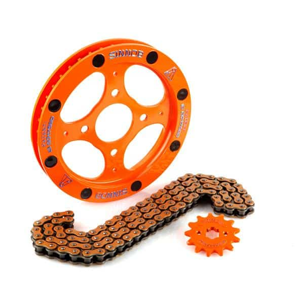 Sinnob Drive Chain Kit Orange