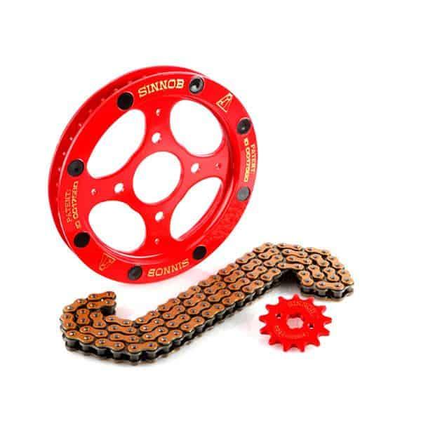 Sinnob Drive Chain Kit Red
