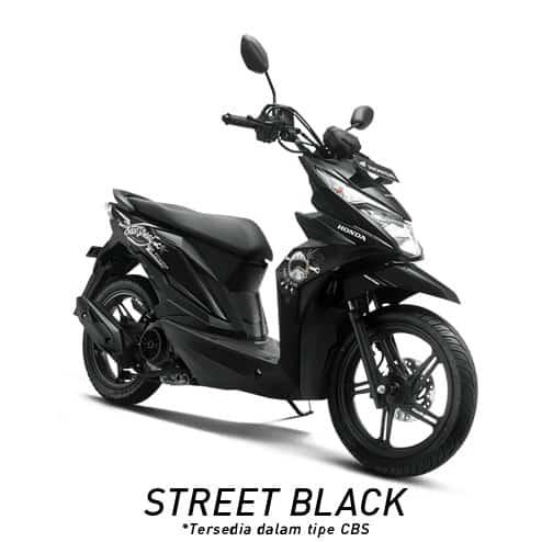 honda beat street esp street black
